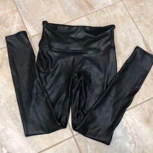 SPANX Pants & Jumpsuits - Spanx Faux Leather Legging